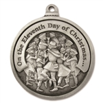 Engravable Eleventh Day of Christmas Ornament