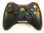 Black W/ Red Modded Controller