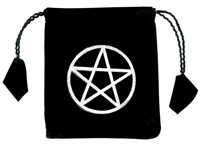 Wholesale Pentacle  Drawstring Bag