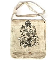 Wholesale Lord Ganesh Hemp Shoulder Bag