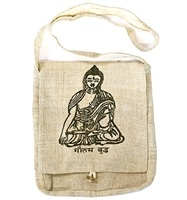 Wholesale Lord Buddha Hemp Shoulder Bag