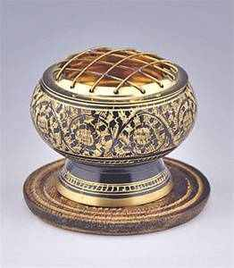 "Wholesale Brass Screen charcoal Burner w/ Coaster 2.5""Diameter"