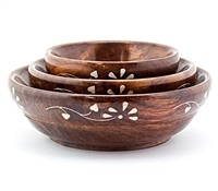 Wholesale Wooden Bowl Set