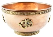 Wholesale Om Symbol Copper Offering Bowl