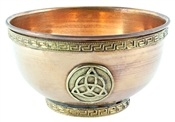 Wholesale Triquetra Copper Offering Bowl