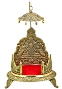 Three Leg Altar Throne with Umbrella