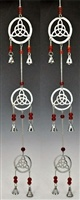 Wholesale Three Triquetra Chrome Chime
