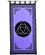 Wholesale Curtain - Purple Triquetra Curtain