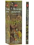 Wholesale Incense - Hem 7 African Powers Incense Square Pack