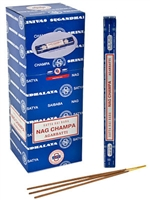 Wholesale Incense - Satya Sai Baba Nag Champa Incense - 10 Gram Square Pack