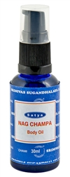 Wholesale Nag Champa Body Oil 15 ML - 1/2 OZ.