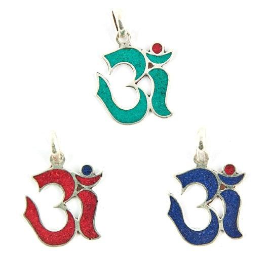 Om Symbol Tibetan Pendant Wholesale