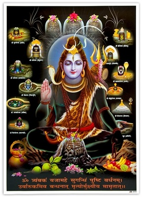 Lord Shiva Art Poster Wholesale
