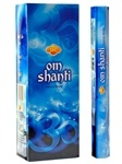 Wholesale Incense - Sac Om Shanti Incense - 20 Hex Pack