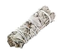 California White Sage Leaves & Clusters (1/2 pound pack)