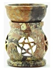 Wholesale Stone Carved Pentacle Aroma Lamp