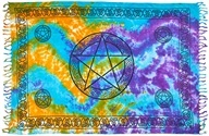 Wholesale Pentacle Scarves/Altar Cloth
