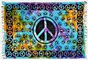 Wholesale Peace Sign Scarves/Altar Cloth