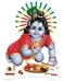 Baby Krishna Stickers