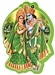 Radha and Krishna Stickers