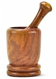Wholesale Wooden Mortar and Pestle