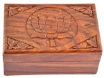 Wholesale Pentacle Carved Wooden Box