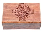Wholesale Celtic Cross Wooden Box