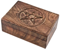 Wholesale Pentacle Wooden Box