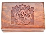 Lord Ganesh Wooden Box