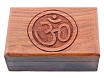 Wholesale Om Symbol Wooden Box