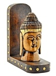 Wooden Lord Buddha Wall Hanging