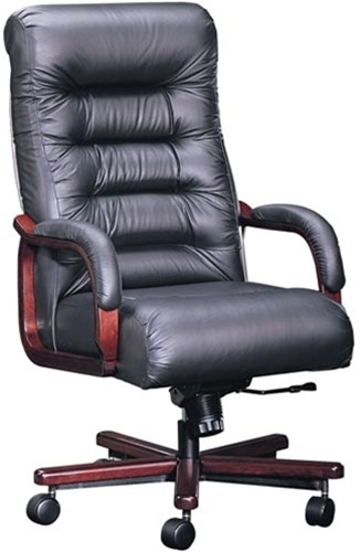 Faustinos Comfortable 9705 Leather Executive Office Chairs Are Made In The USA