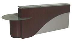 Faustinos ADA approved Custom Built Reception Desks
