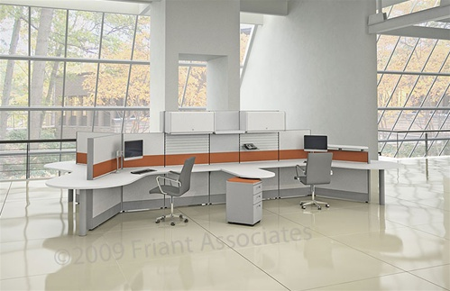 Friant Tile Cubicle Workstations