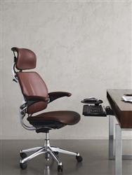 Leather Humanscale Freedom Office Chair with Headrest. Office ...