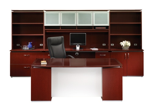 Maverick Sierra series Executive Desk Collection