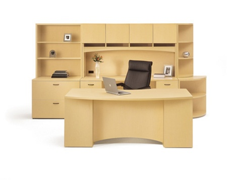 Vista series Executive Desks by Maverick Desk pany