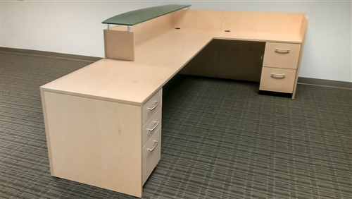 Custom Design by Maverick Desk manufacturing