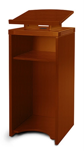 Our Lecterns And Podiums Are In Stock For Quick Delivery