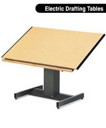 Electric Drafting Table In San Diego On Sale At Discount Office Furniture Outlet All Mayline