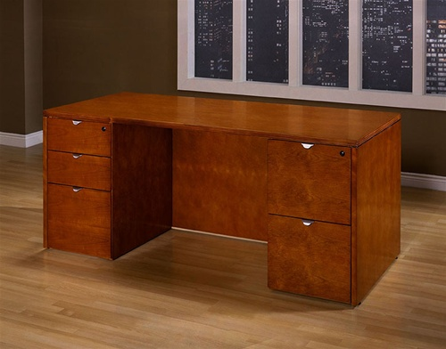 Kenwood Series Cherry Wood Desk ...
