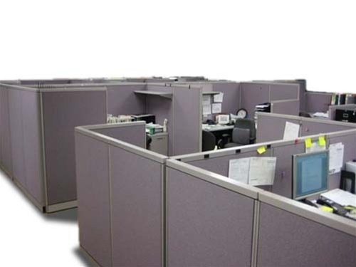 Used fabric panels used office divider walls used for Used modular furniture