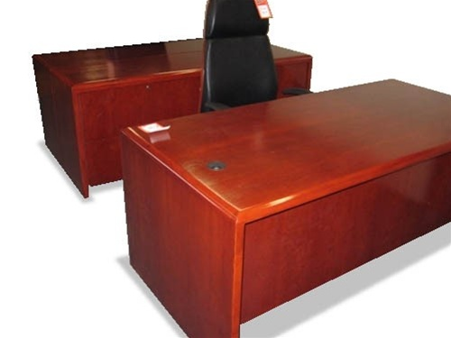 used solid wood office desks and computer furniture from office