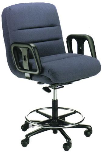Hercules Heavy Duty Counter Height Bank Teller Chair Of