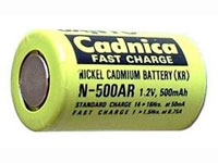 Sanyo 500AR Fast Charge Single Battery Cell