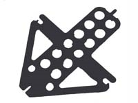 Ikarus #68243 Piccoboard mounting plate