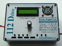 112 Deluxe NiCad/NiMH Charger/Discharger 1-40 cell