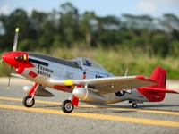 FMS P-51D Red Tail V8 PNP, 1450mm (FMM008PRT)
