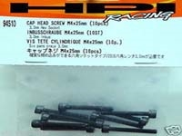 M4 x 25mm Cap head screw (10 pcs) HPI94510