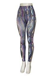ETHNIC HIGH WAIST PRINT LEGGINGS